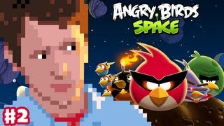 Angry Birds Space - Gameplay Walkthrough Part 2 - Introducing Lazer Bird