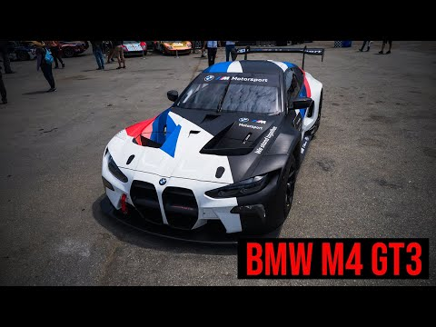BMW M4 GT3 - First Look At The Next-Gen Racing Car