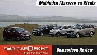 Mahindra Marazzo vs Tata Hexa vs Toyota Innova Crysta vs Renault Lodgy: Comparison