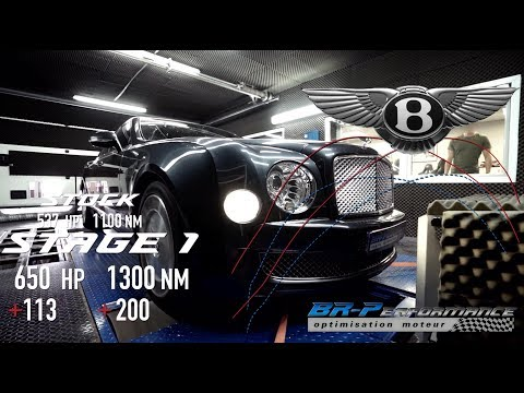 Bentley Mulsanne 6.75 V8 Bi-Turbo Stage 1 By BR-Performance