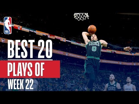 connectYoutube - Best 20 Plays From Week 22 of the NBA Season (LeBron, Lonzo, Jayson Tatum and More!)