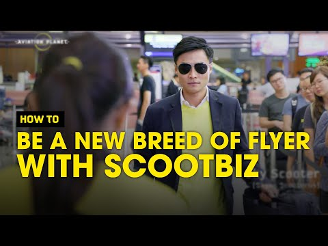 How to be a New Breed of Flyer with ScootBiz - Scoot