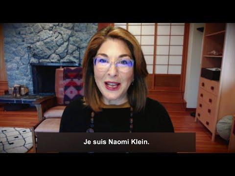 Vidéo de Naomi Klein