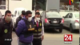 PNP capturó banda de raqueteros que asaltó a jóvenes en el distrito de Comas