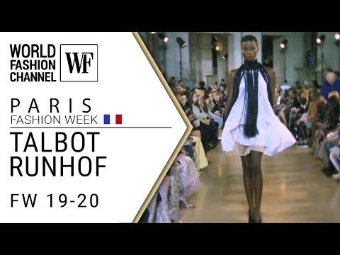Talbot Runhof Paris fashion week FW 19-20