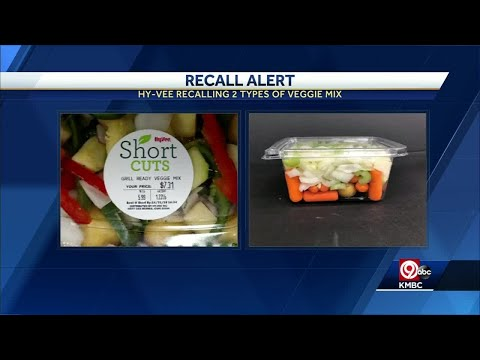 Hy-Vee recalls 2 Short Cuts vegetable mix products