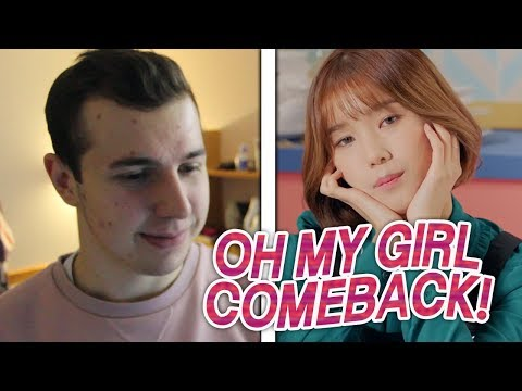 connectYoutube - OH MY GIRL - Secret Garden MV REACTION!!!
