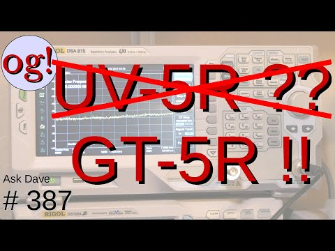 Dump the UV-5R and Get the GT-5R (#387)