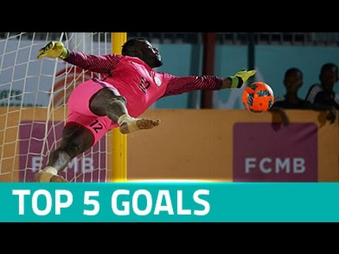 Top 5 Goals - CAF Beach Soccer Africa Cup of Nations Nigeria 2016