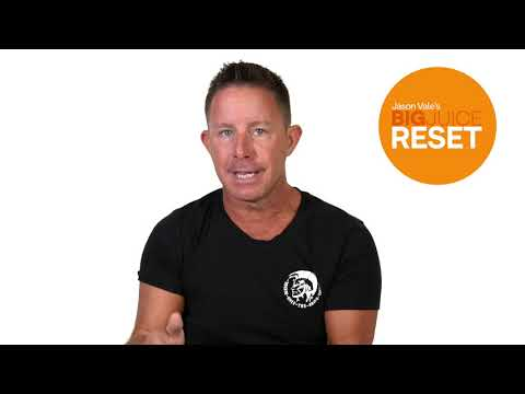 Jason Vale's Big 5-Day Juice Reset – The Results