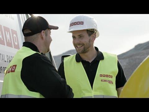 Cramo Imagefilm - Vermieter von Bauequipment und starker Partner der Baubranche