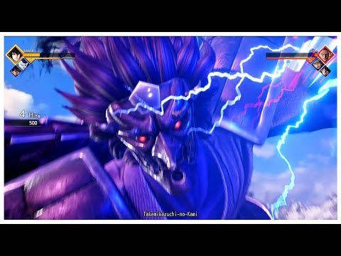 Jump Force - Official Gameplay (Zoro vs Sasuke)