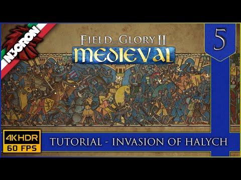 Field of Glory II: Medieval ⚔️🏹🛡️ Gameplay ITA #5 ✔️ Tutorial   Invasion of Halych [4K 60 FPS]
