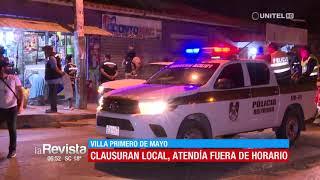 50 personas fueron arrestadas por consumir bebidas en un local de la Villa
