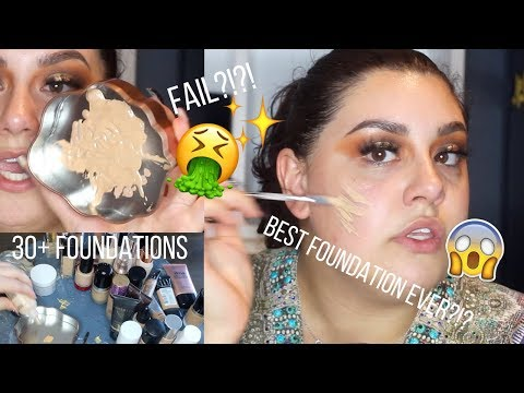 connectYoutube - MIXING ALL MY FOUNDATIONS TOGETHER - THATS RIGHT.... 30+ | Celina Pereira