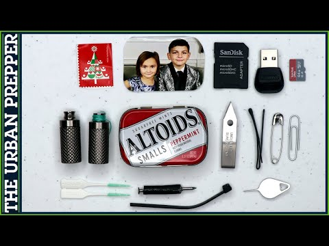 Urban Altoids Smalls EDC Kit (Version 2.0)