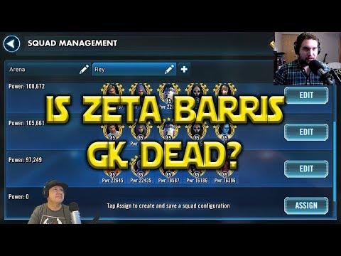 connectYoutube - Is Zeta Barris GK Dead?   Star Wars: Galaxy Of Heroes - SWGoH