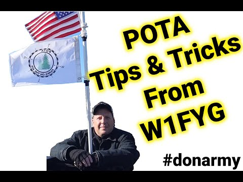 Ham Radio: Tips and Tricks for POTA From Don Izzo W1FYG