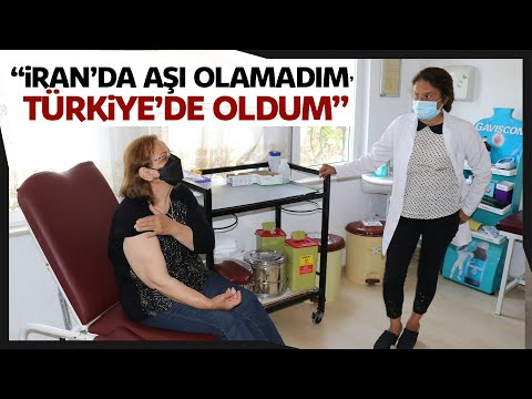 İran'da Olamadığı Korona Virüs Aşısını Türkiye'de Yaptırdı