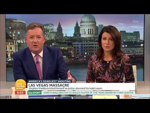 connectYoutube - Piers Morgan Reacts to the Las Vegas Massacre | Good Morning Britain