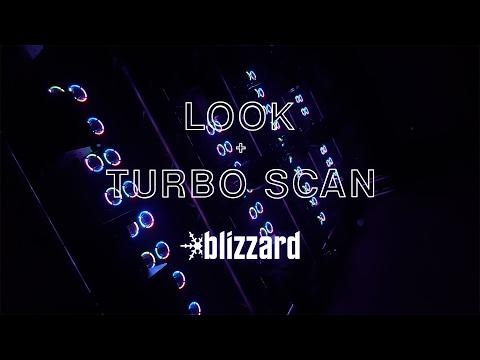 Blizzard Lighting's Turbo Scan™ + Look™ Single Shot Show