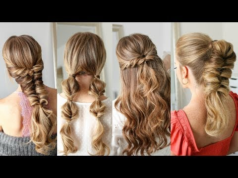 4 Easy Twisted Hairstyles   Missy Sue