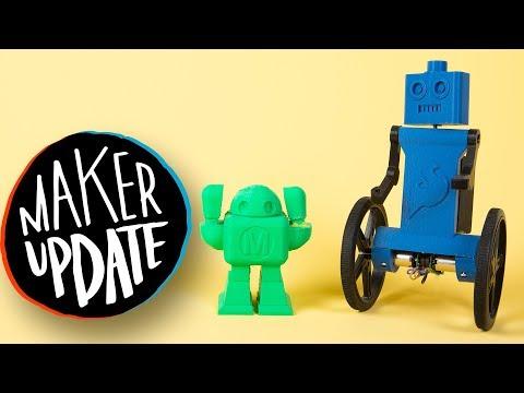 Maker Update: Spider Clock