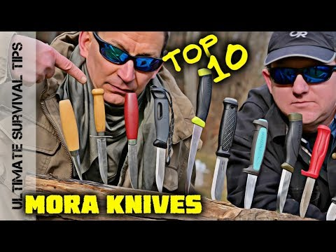 KNIFE QUEST - 10 Best MORA Knives for Survival / Bushcraft / Camping / Hunting