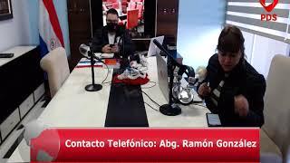 Estuvimos en Comunicación con el Abg. Ramón González