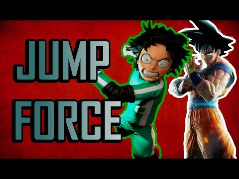 The MOMENT Jump Force Went PLUS ULTRA | Jump Force Official Gameplay and Trailer Review (E3 2018)
