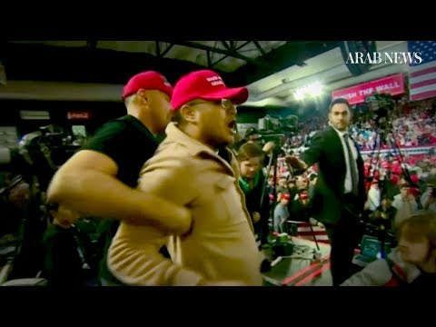 UK foreign secretary condemns attack on BBC cameraman at Trump rally