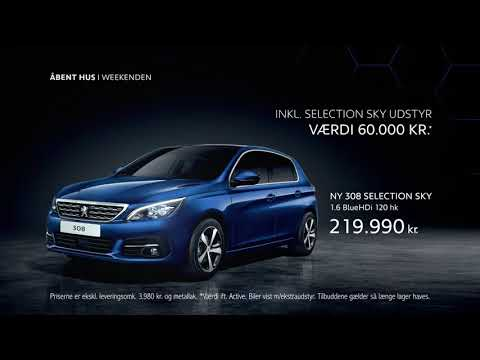Peugeot 208 308 selection sky TVC uge 10