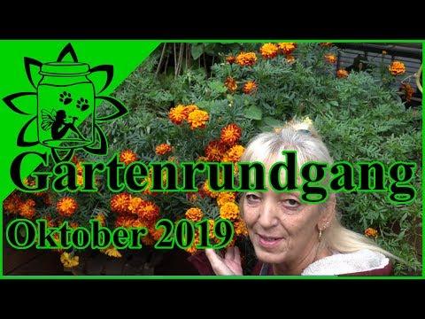 Gartenrundgang Oktober 2019   Garten im Herbst   Garteneinkochfee