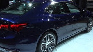 Car Tech - 2015 Acura TLX gets a new look, new name