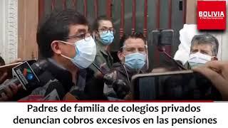 DENUNCIAN COLEGIOS PRIVADOS EXTORSION COVID19