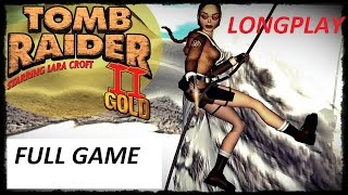 Tomb Raider 2 The Golden Mask : Walkthrough : Complete Game 【HD】
