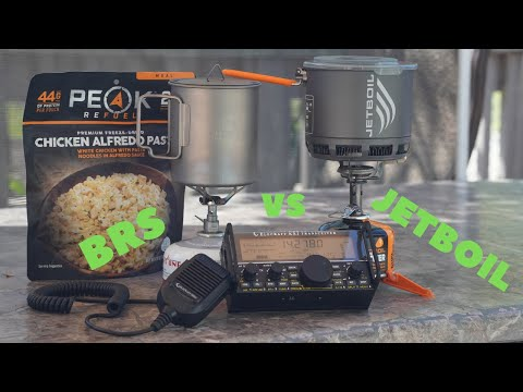 JETBOIL STASH vs BRS Backpacking stove, which one is better?