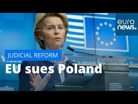EU sues Poland: Brussels launches legal case over judicial reform photo
