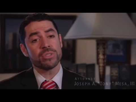 http://www.PersonalInjuryAttorneysMiamifl.com - (888) 897-7230  Attorney Mesa discusses the process of hiring the Mesa Law Firm and how their case is evaluated.