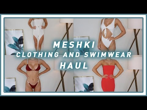 Meshki Clothing & Swimwear Try On Haul | SHANI GRIMMOND