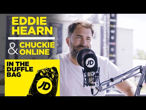 jdsports.co.uk & JD Sports Promo Code video: EDDIE HEARN & CHUCKIE ONLINE   FIGHT CAMP SPECIAL   JD IN THE DUFFLE BAG PODCAST