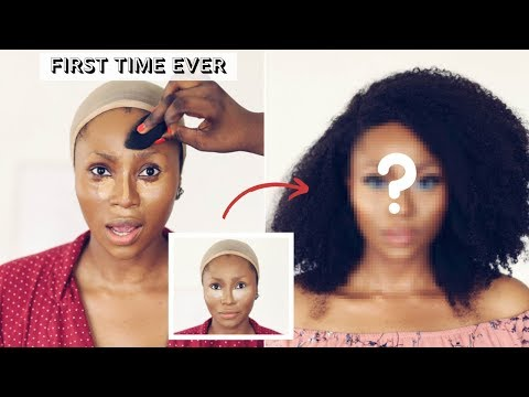 I FINALLY DID IT, I LET A PRO MAKEUP ARTIST DO MY MAKEUP | DIMMA UMEH