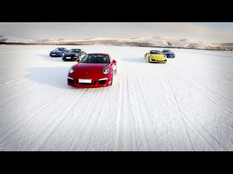 Porsche Snow Force in Yakeshi, Mongolia