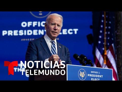 Biden advierte que nada le impedirá conformar su Gobierno | Noticias Telemundo