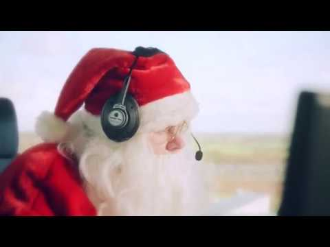 London Luton Airport helps Father Christmas
