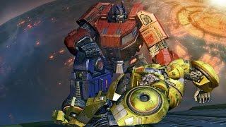 в–є Transformers: Fall of Cybertron - The Movie | All Cutscenes (Full Walkthrough HD)