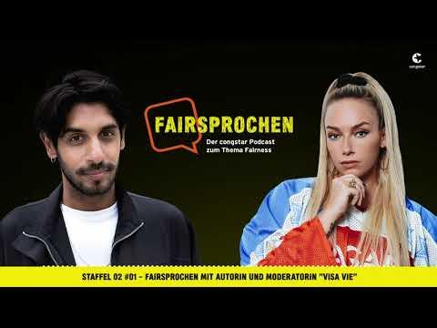 """congstar Podcast Staffel 2 #01 - FAIRsprochen mit Autorin und Moderatorin """"Visa Vie"""""""