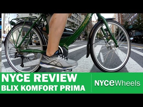 Komfort Prima Shimano Steps Electric Bike Review