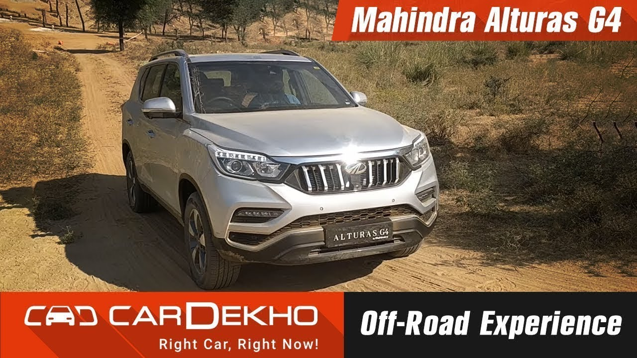 2018 Mahindra Alturas G4 Off-road experience | CarDekho.com