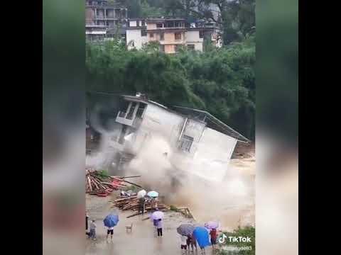 สถานการณ์เขื่อนแตกที่ประเทศจีน